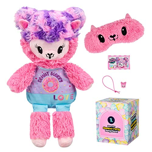 Pikmi Pops Giant Pajama Llama - Poppy Sprinkles - Scented Stuffed Animal Plush Toy in Popcorn Box