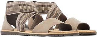 Sorel Women's Ankle Strap Sandals Jute Ash Brown