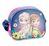 Disney Frozen - Die Eiskönigin, Elsa Anna Olaf, Handtasche Schultertasche (DFV), pink/lila, 18 x 15...