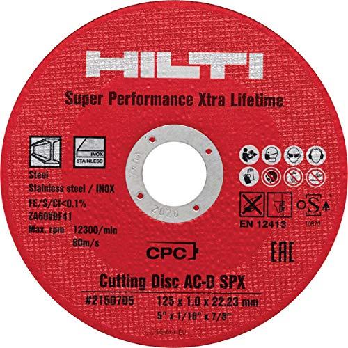 Hilti Trennscheibe AC-D SPX 125x1.0, 25 Stück, 2150705