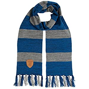 Harry Potter Ravenclaw Premium Knit Scarf with Patch Emblem
