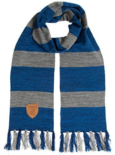 Harry Potter Ravenclaw Premium Knit Scarf with Patch Emblem