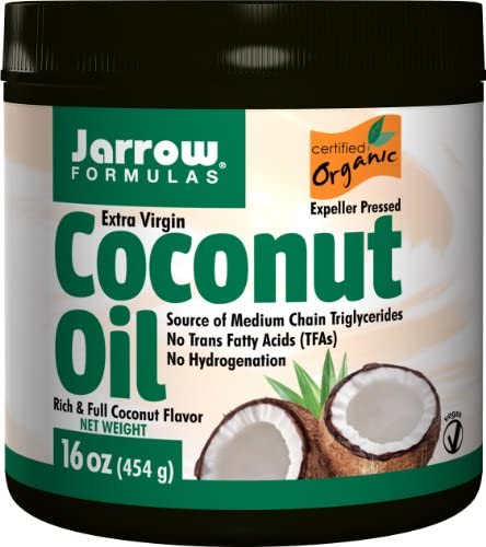 Jarrow Formulas Extra Virgin Organic Coconut Oil 16 oz Multi Pack product image