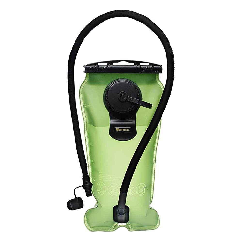 最も遠いローズ平手打ちアウトドアスポーツウォーターバッグ乗馬登山折りたたみプラスチック飲料水と無味アウトドアツール飲料水バッグ3Lアーミーグリーン