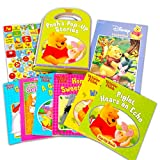 Winnie The Pooh Book Set Winnie The Pooh Storybook Collection Bundle ~ Pack of 6 Disney Winnie The Pooh Pop Up Story Books with Stickers (Winnie The Pooh Stories for Baby)