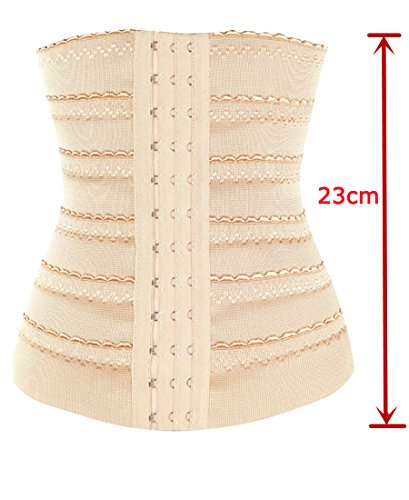 DODOING 3-5 Days Delivery Hourglass Waist Trainer Corset for Weight Loss Body Shaper for Women Tummy Fat Burner Slimming Waist Training Cincher Underbust Corset Shapewear Girdle