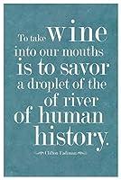 ERZAN300ピース木製パズルクリフトン・ファディマンがワインを私たちの口の青に取り入れます減圧ジグソーおもちゃキッズギフト