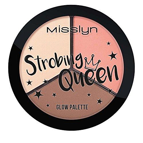 Misslyn Strobing Queen Glow Palette Nr.1, 13 g