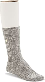 Slub Socks Women | Grey/White (1008032)