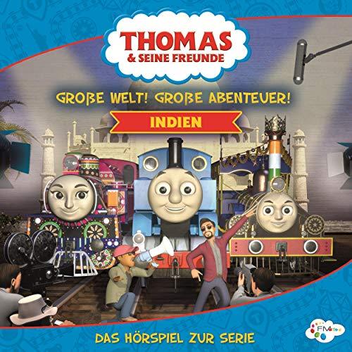 Große Welt! Große Abenteuer! Indien audiobook cover art