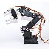 WYY Full Metal Kit 6DOF Brazo Robótico para Arduino DIY, con MG996 Servos, Proporciona Tutoriales En Línea