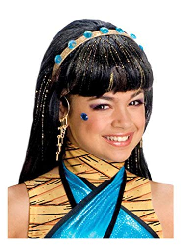 Generique - Perruque Cleo de Nile Monster High Fille