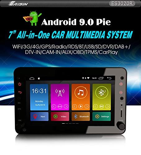 Autoradio Erisin ES3020R 7' Android 9.0 DAB+GPS DSP per Alfa Romeo Brera Spider 159 Sportwagon