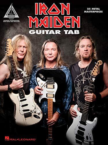 Iron Maiden: Guitar Tab - 25 Metal Masterpieces (Guitar Recorded Version)