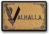 Soloatman Solatman Vikings Felpudo de la puerta de Valhalla. Juego de felpudo. 40x60CM