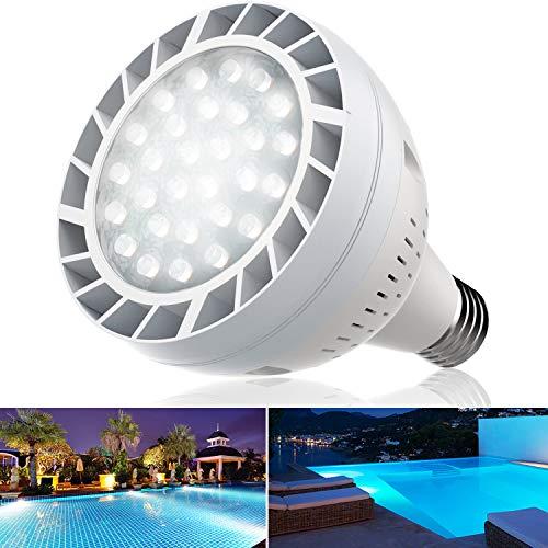 Bonbo LED Pool Bulb White Light,...