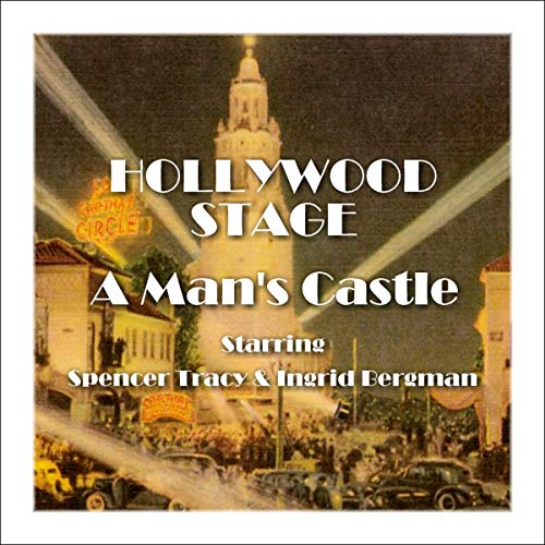 Hollywood Stage - A Man's Castle audiobook cover art