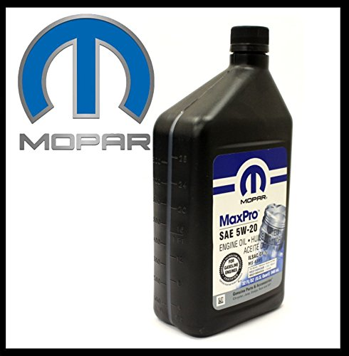 ORIGINELE MOPAR motorolie 5W20 (inhoud 946ml) SAE/VISKOSITAET 5W-20 / Specificaties API SN, ILSAC GF-5