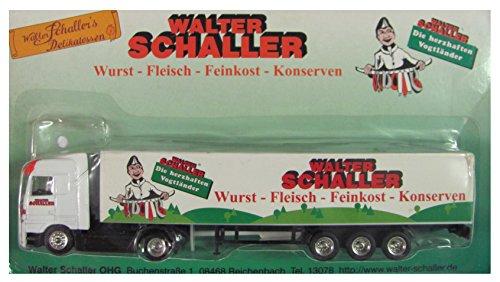 Walter Schaller Delikatessen Nr.01 - Die herzhaften Vogtländer - MB Actros - Sattelzug