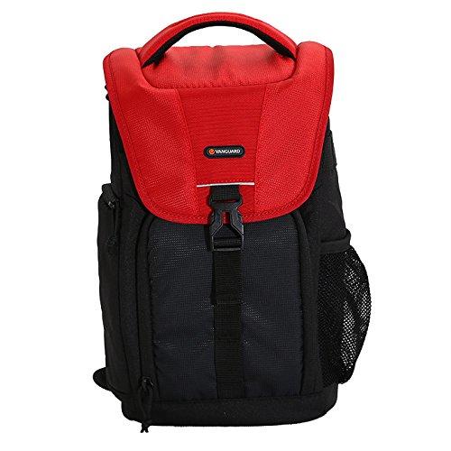 Vanguard BIIN II 47RD - Bolsa Bandolera, Color Negro y Rojo