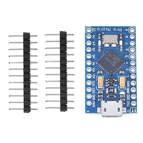 Elektronikplatinenmodul, Hochwertige Pro Micro ATmega32U4 5V / 16M Mikrocontroller-Entwicklungsplatinenmodul-Steuerungsausrüstung