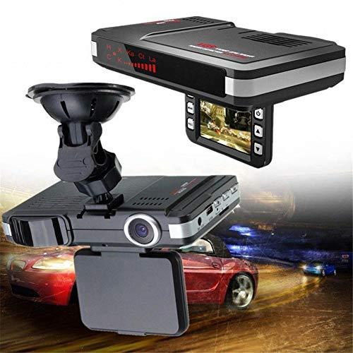 Auto DVR Moving Speed Messradar 2-in-1 Auto Laser Radar Full Band Detektor DVR Kamera 720P 30FPS Dash Kamera Recorder Russisch Und Englisch Stimme