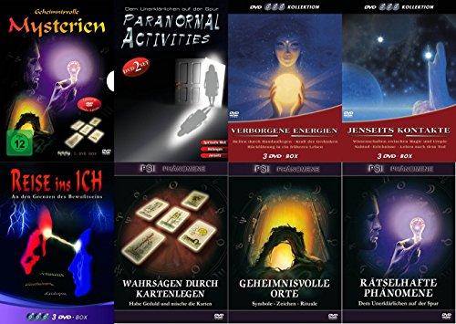Esoterik Paket SPIRITUELLE WELT - Phänomene NAHTOD Leben nach dem Tod JENSEITS Geistheilung RÜCKFÜHRUNG Wahrsagen SCHAMANEN Katalepsie 14 DVD Edition Limited Edition