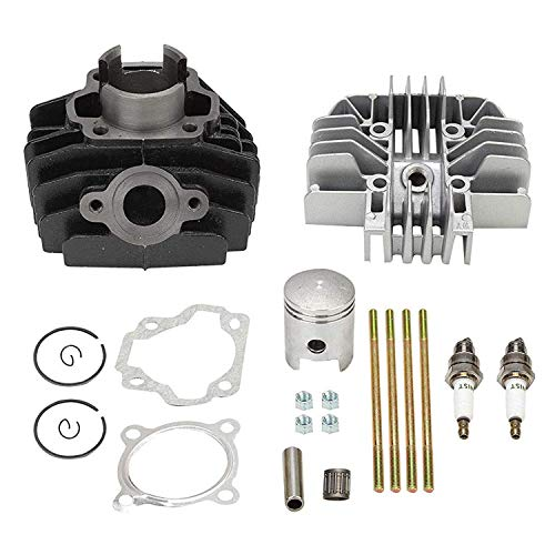 BETTERCLOUD Cylinder Gasket Piston Ring Kit Set PW80 Top End Kit Replacement for 1983-2006 Yamaha PW 80 PW80