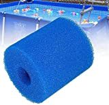LXTOPN Cartucho de filtro tipo H, cartuchos de filtro de agua, accesorios para instalaciones de filtro, reutilizable y lavable, esponjas para piscinas, 4 unidades