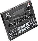 Kettles V9 Scheda Audio in Diretta, Miscelatore Audio USB Scheda Audio Esterna, Microfono Webcast Live Sound Scheda per la Registrazione Musicale DJ. Streaming k Canzone.