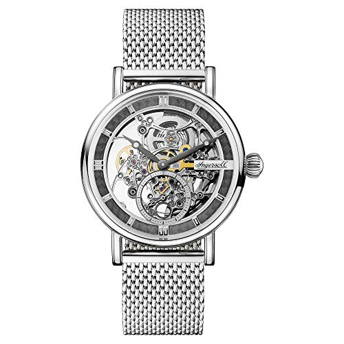 Ingersoll The Herald Gents Automatic Watch I00405 with a Stainless steel case and stainless steel bracelet