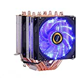 120mm CPU Cooler Radiator Fan 6 Heat Pipes RGB Fan 3 4PIN Quiet for LGA 115X 1366 2011 V3 X79 X99 AM4 Motherboard Cooling Fans|Fans & Cooling|