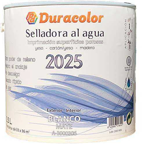 Selladora al Agua Imprimación para madera todoterreno y para esmaltes y lacas al agua 2025 Duracolor (750 ml.)