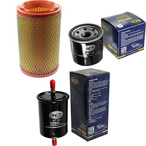 SCT Germany Inspektions Set Inspektionspaket Luftfilter Ölfilter Kraftstofffilter