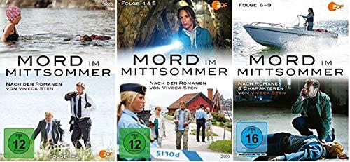 Mord im Mittsommer 1-9 / Folgen 1-9 / Box 1+2+3 [DVD Set]
