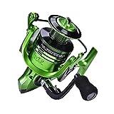 Redxiao Herramienta de Pesca Carrete de Agua Salada Ligero, Accesorio de Aparejos Carrete de Pesca, Pesca de mar para Pesca de Agua Dulce(Green XF7000)