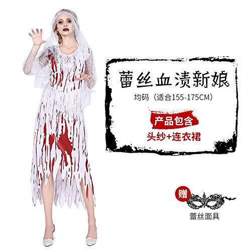 MYing Halloween Kostüm Kostüm Cosplay Erwachsenen Hexe Anzug Anzug Hexe Königin Kostüm Geist Braut Königin-15