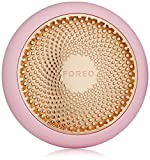 FOREO UFO Smart Mask Dispositivo de tratamiento Mascarilla facial rosa perla en solo 90 segundos Tratamiento de mascarilla facial con terapia de luz térmica/crio/LED y pulsación sónica, Pearl Pink