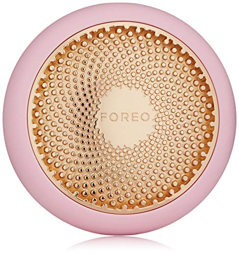 FOREO UFO Smart Mask Treatment Device |Pearl Pink| Face Mask in Just 90 Seconds |Facial Mask Treatment with Thermo/Cryo/LED Light Therapy and Sonic Pulsation, Dedicated Smartphone App