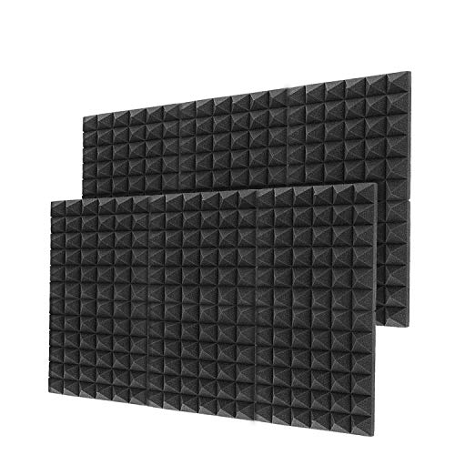 Little-Lucky Acoustic Foam Panels,SoundProof Padding Foam...