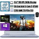 "2020 Flagship ASUS ROG Zephyrus M Gaming Laptop 15.6"" FHD IPS 240Hz 9th Gen Intel 6-Core I7-9750H 32GB RAM 2TB PCIe SSD GeForce GTX 1660 Ti 6GB RGB Backlit USB-C Win10 Pro + iCarp Wireless Mouse"