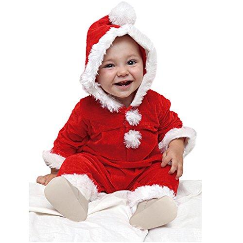 Générique - NO2809 - Costume Bébé Père Noël - 2 Ans