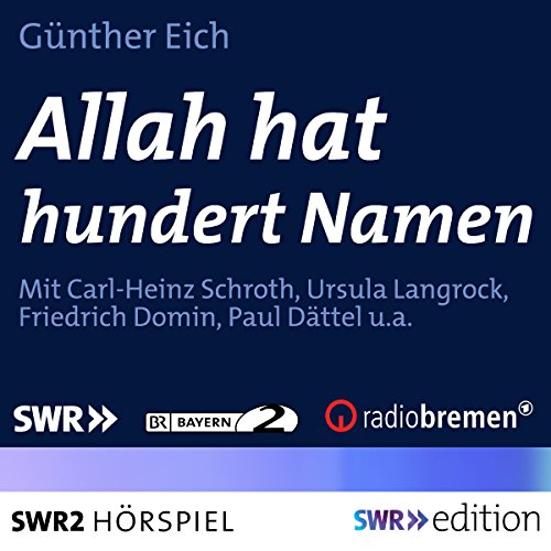 Allah hat hundert Namen audiobook cover art