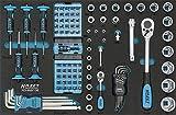Hazet Werkstattwagen Assistent Werkzeug inklusive, 178N-7/147 - 4