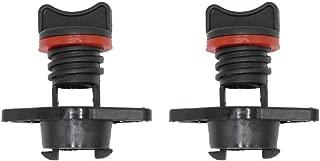 Kayak Drain Plug Kit Thread Bung for Kayak Canoe Boat Transom Drain Plug, Screw Type