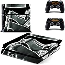 PS4 Pro Skin - Slim skins sticker - Star Wars Darth Vader PS4 Skin Sticker Decal for Sony PlayStation 4 Console and 2 Controller Skin PS4 Sticker Vinyl Accessory - Type A26