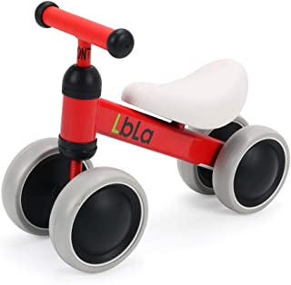 LBLA Baby Balance Bike Children Walker for 10-36 Months No Pedal Infant 4 Wheels Bicycle Toddler Bike The First Gift