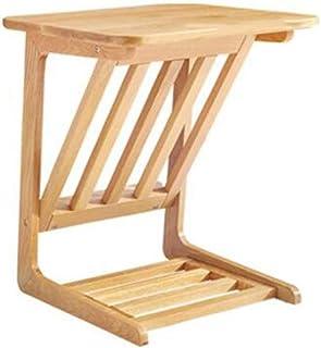 LULUDP Scatola di archiviazione Wireless Mini Tavoli in Legno a Lato del Letto Armadio portariviste tavolino Adatto for So...
