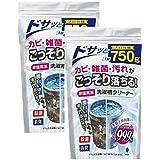 紀陽除虫菊 洗濯槽クリーナー ( 非塩素系 / 750g×2個セット ) 洗たく槽 掃除 洗濯機掃除 除菌 消臭 におい 生乾き臭 防止
