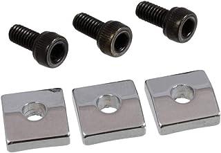 3 Nut Blocks for Floyd Rose/Schaller Locking Nut Chrome